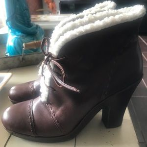 Aero soles Leather Boots Size 8 1/2
